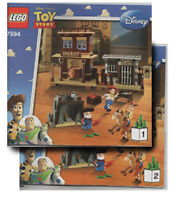 Instructions Only Lego Woody's Roundup 7594 Toy Story Book From Set