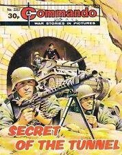 Commando For Action & Adventure Comic Book Magazine #2257 Secret Of The Tunnel