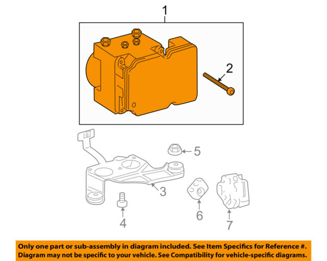 2007 Toyota Tundra Anti Lock Brake Unit Abs Oem 121k For Sale Online Rhebay: 2007 Tundra Abs Control Module Schematic At Gmaili.net
