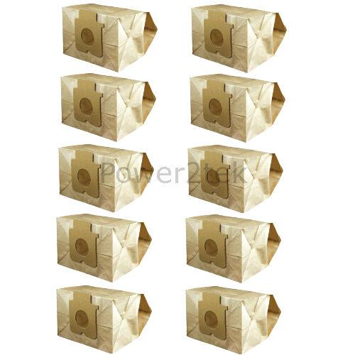 10 x c2e Sacchetti per aspirapolvere per Panasonic mce750 mce751 mce752 Hoover Nuove