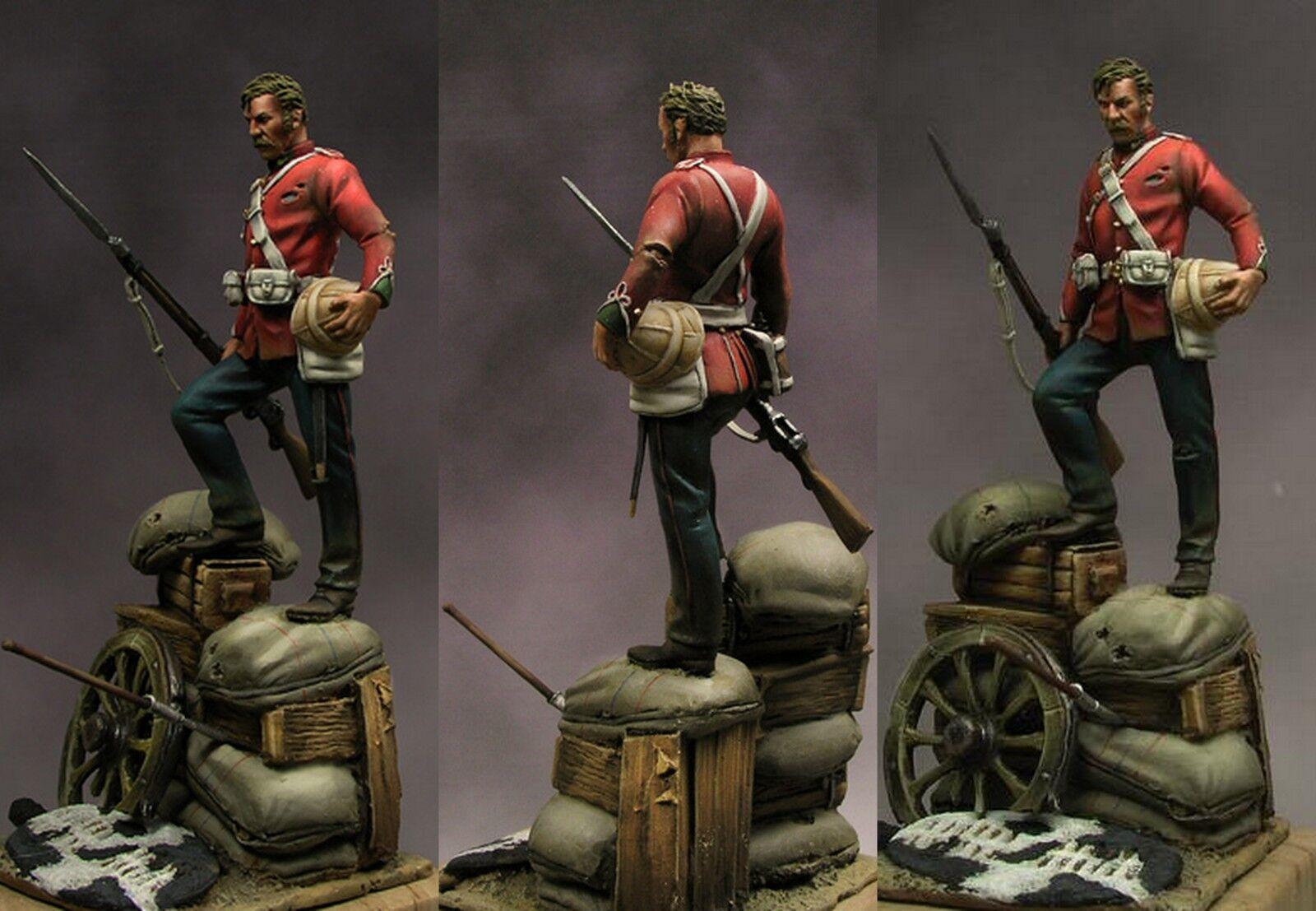 Beneito Private 24th Foot Rorke's Drift Zulu War 1879 (2) 54mm Unpainted kit