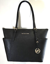 7feb129455ffc0 item 8 Michael Kors Jet Set East West Top Zip Black Saffiano Leather Tote -Michael  Kors Jet Set East West Top Zip Black Saffiano Leather Tote