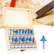 15pcs 14 Shank Milling Cutter Drill Bit Router Bits For Woodworking Tools Set