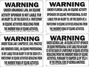 Warning-034-State-034-Equine-Liability-Horse-Signs