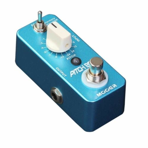 NEW MOOER PITCH BOX Pitch Shifting Pedal 2 *FREE* Patch Cables Pitchbox