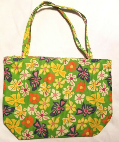 Barbie Carry Bag Green Floral Toy Storage Dolls Accessories Case Zipper Tote