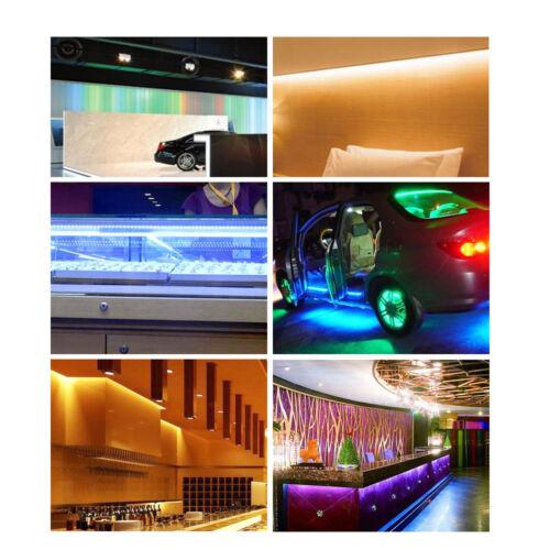 5050 RGB LED STRIP LIGHTS COLOUR CHANGING TAPE UNDER CABINET KITCHEN LIGHTING