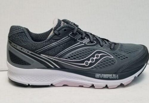 Saucony Women's Echelon 7 Grey-Pink Running Shoe S10469-1 Size 8 Wide
