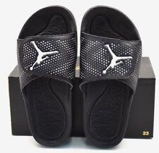 0134809d8a2c63 Nike Youth Kids Jordan Hydro 5 BG Slides Sandals Size 7y Black 820258 6y