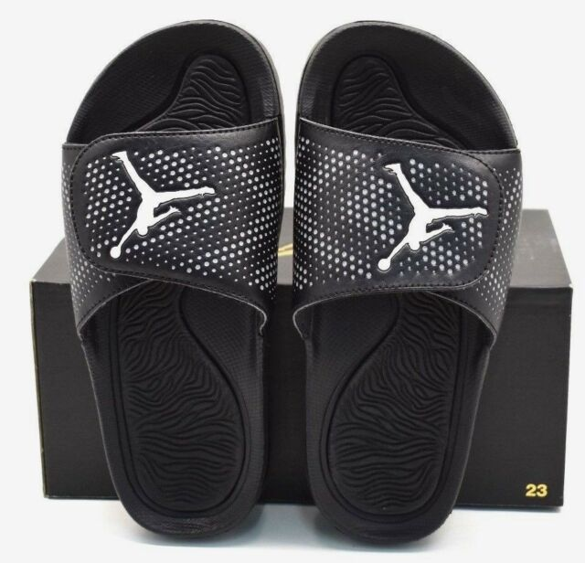 33a8d0649f5e Jordan Hydro 5 BG Black  White  Cool Gray US Size 6Y - FREE SHIPPING
