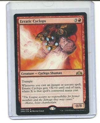 Erratic Cyclops x4 4x Guilds of Ravnica Magic the Gathering MTG