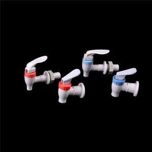 New Push Type Plastic Replacement Water Dispenser Tap Faucet White Basin Faucets Home Improvement