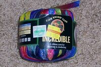Lion Brand Incredible Yarn - Rainbow 201 - Discontinued