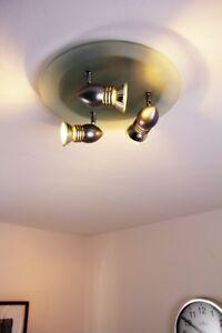 Design Deckenleuchte Deckenspot Leuchte Glas Deckenstrahler Deckenlampe Lampe