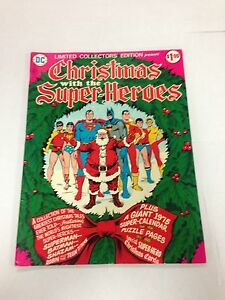 Limited-Collectors-039-Edition-vol-4-C-34-1975-Christmas-With-The-Super-Heroes