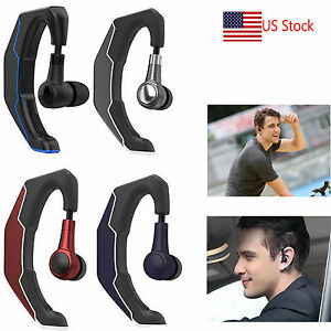 Image Is Loading Driving Bluetooth Headset Handsfree Headphone Wireless Earpiece For