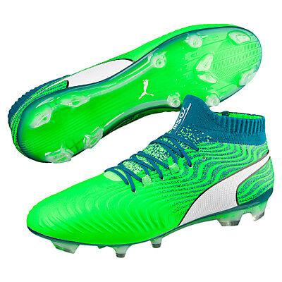 Puma Hommes Chaussures de Football One 18.1 Syn Fg Football Vert 104869 03 | eBay