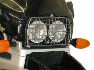 BMW-R-850-GS-Bj-98-bis-00-Motorrad-Lampenschutzgitter-Hepco-Becker-schwarz-NEU