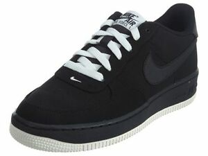 Nike Air Force 1 Low Nubuck (GS) Black