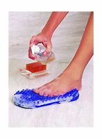 Soapy Soles Foot Scrubber And Massager Suctions To The Floor Or... Free Shipping