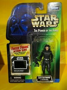 Star Wars - Power of the Force - Death Star Trooper (Freeze Frame)