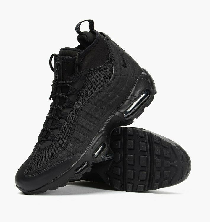 BNIB (NO LID) RARE NIKE AIR UK9.5 MAX 95 SNEAKERBOOT WINTER UK9.5 AIR noir 806809002 3e9f7b