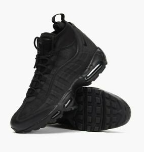nike air max 95 sneakerboot trainers in nero