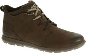 CAT-CATERPILLAR-Transcend-P718990-en-Cuir-Sneakers-Chaussures-Bottes-pour-Homme