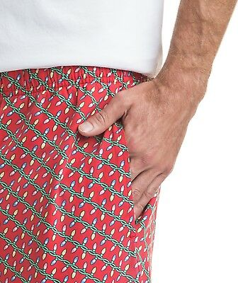 NWT Vineyard Vines Lounge Pants-Holiday Lights Men/'s Pajama D47 $65.00