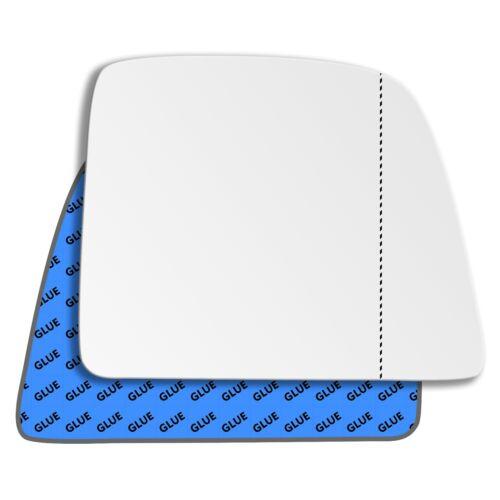 Droite Asphärisch Côté Passager Miroir De Verre Pour Ford Tourneo Connect 2013-2019