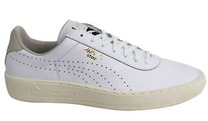 Puma Star CRFTD White Leather Lace Up Mens Trainers 361124 02 M12