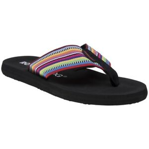 e0f34e3d9f0 Image is loading New-Womens-Rocket-Dog-Multi-Adios-Textile-Sandals-