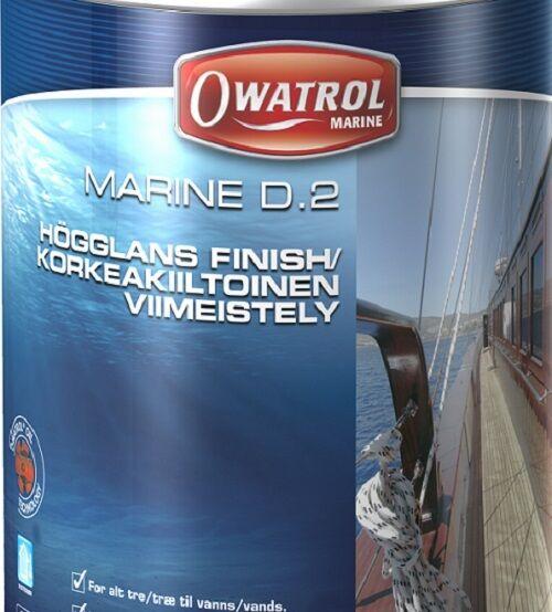 Owatrol Marine  D2 Stiefelpflege Holzschutz HolzStiefele HOCHGLANZSCHICHT HOCHGLANZSCHICHT HolzStiefele 2,5L 9b9ae9