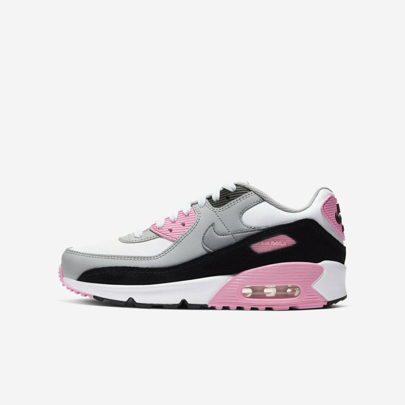 Nike Air Max 90 Ltr GS Size 7 Youth Rose White Grey Pink Cd6864 ...