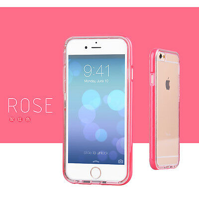 Shockproof Rugged Hybrid Rubber Hard Cover Case for Apple iPhone 6 6s Plus