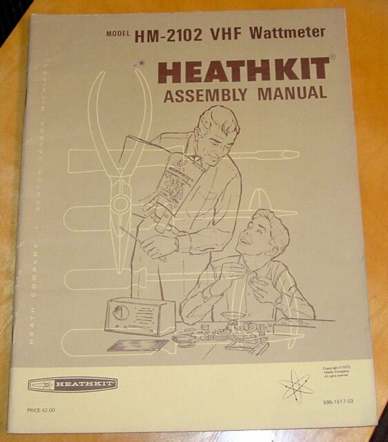 Original Manual For Heathkit Hm