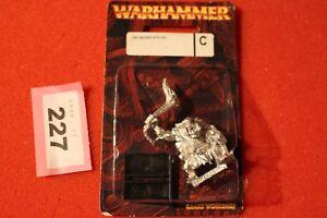 Jeux Atelier Warhammer Fantasy Orcs Raider Avec Cochon Orc Métal Bnib Nouveau Oop Gw