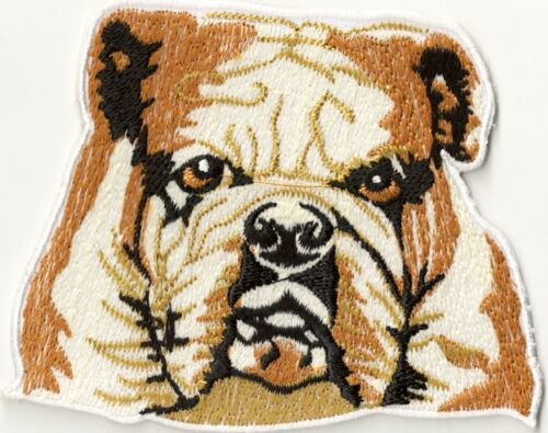 Écusson patche Chien thermocollant patch badge deco brodé