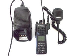 Motorola-XTS3000-H09UCH9PW7AN-Astro-Model-III-Flashport-800Mhz-Radio-Charger
