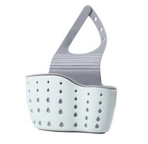 Kitchen-Bathroom-Sponge-Sink-Storage-Rack-Holder-Organizer-Strainer-Suction-Tidy