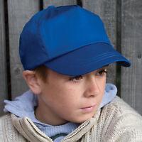Result Headwear Childrens Cotton Cap Kids Baseball Hat Unisex Boys Girls (RC05J)