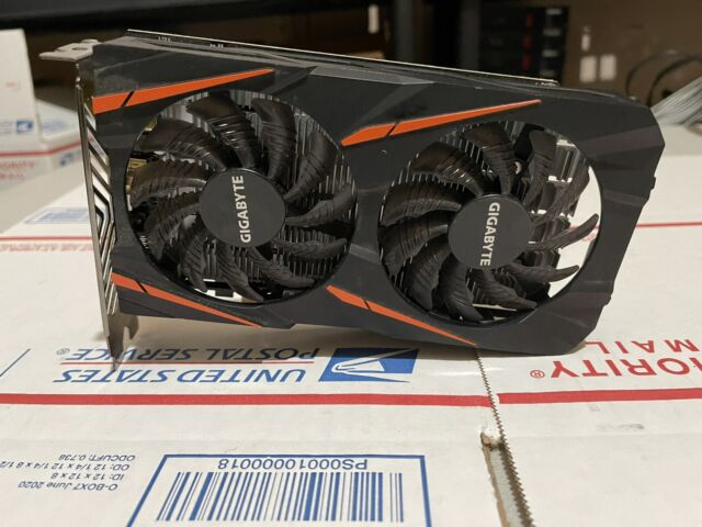 GIGABYTE Radeon RX 550 Gaming OC 2G DDR5 (GV-RX550GAMING OC-2GD) FOR PARTS