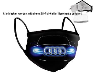 Auto Logo Emblem Maske Mundschutz Maske Baumwolle Maske A4 Quattro Erwachsener