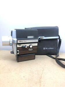 Vintage Bell & Howell Autoload 309 Focus-Matic Super 8 Movie Camera Wood Grain