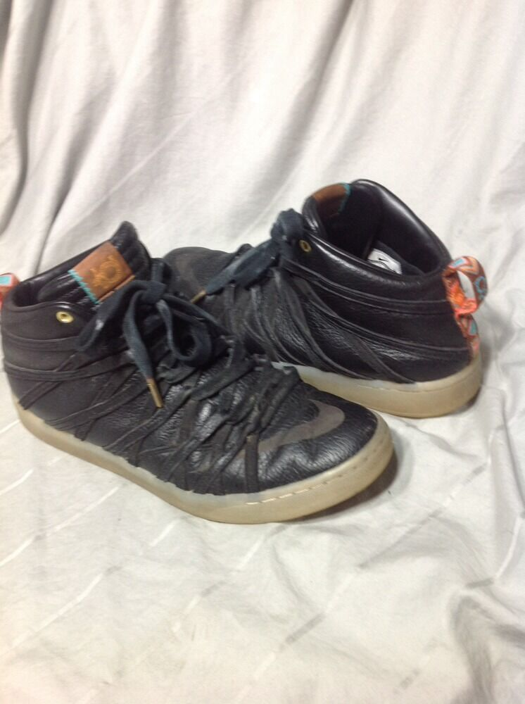 Nike Zoom KEVIN DURANT LIFESTYLE KD VII 7 NSW LIFESTYLE DURANT QS BLACK 653871-001 Size 209997