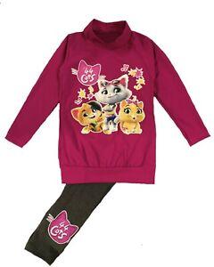 Hello Kitty Completo da Bambina con Maglietta e Leggings a 3//4
