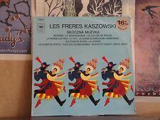 LES FRERES KASZOWSKI, SKOCZNA MUZYKA - FRENCH LP S52877