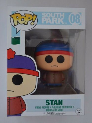 Stan Nr South Park Funko Pop 08 Vinyl Figur ca.8 cm groß
