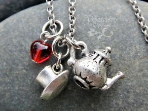 Tea-time-necklace-antiqued-silver-tea-pot-and-tea-cup-charms-red-glass-heart