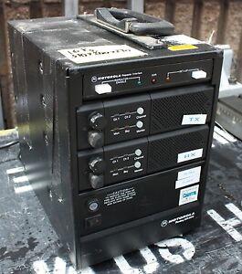 Details about Motorola radius GR 300 Portable UHF two way radio repeater  inc PSU & Diplexer